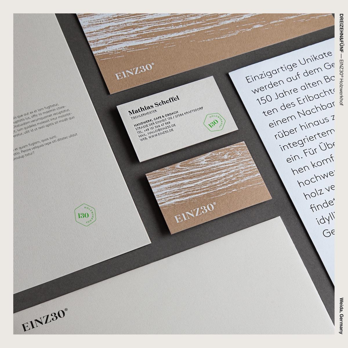 DREIZEHN&FÜNF — EINZ30® Holzwerkhof