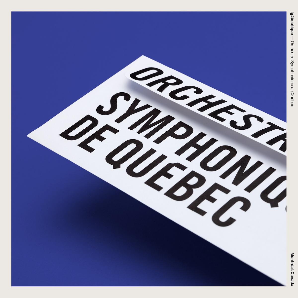 lg2boutique — Orchestre Symphonique de Québec