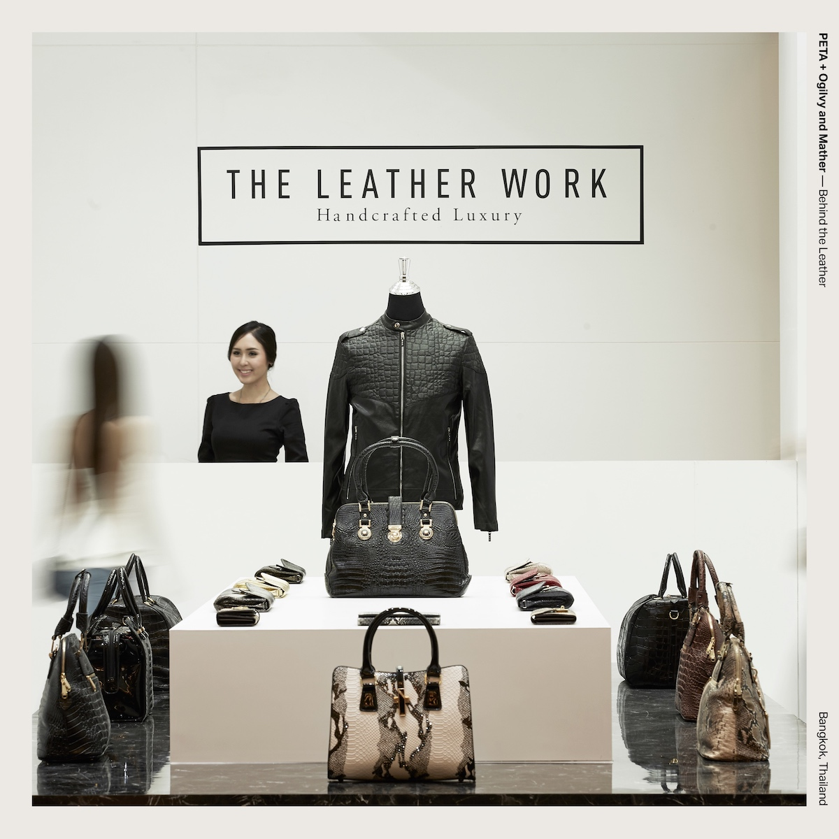 PETA + Ogilvy and Mather — Behind the Leather