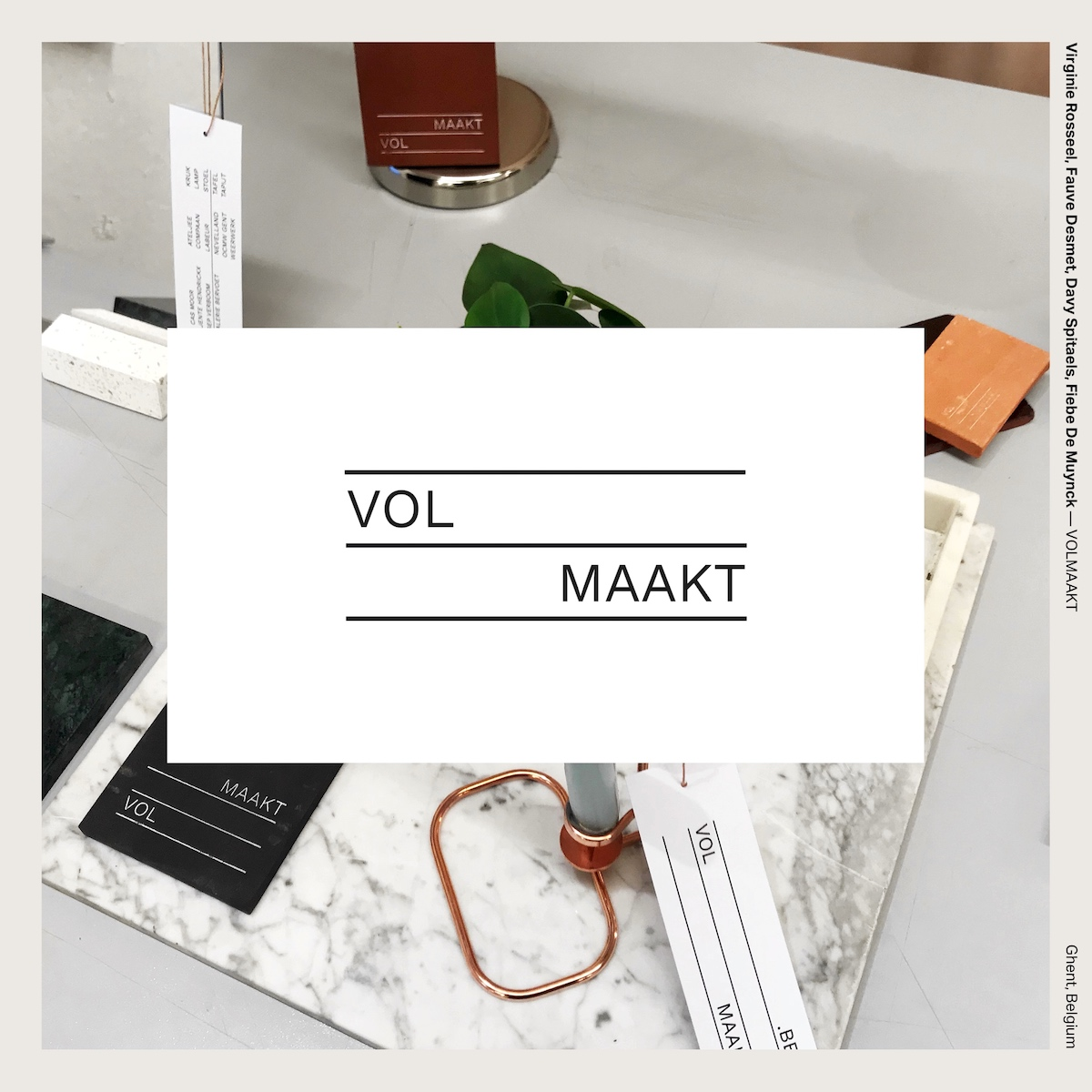 Virginie Rosseel, Fauve Desmet, Davy Spitaels, Fiebe De Muynck — VOLMAAKT