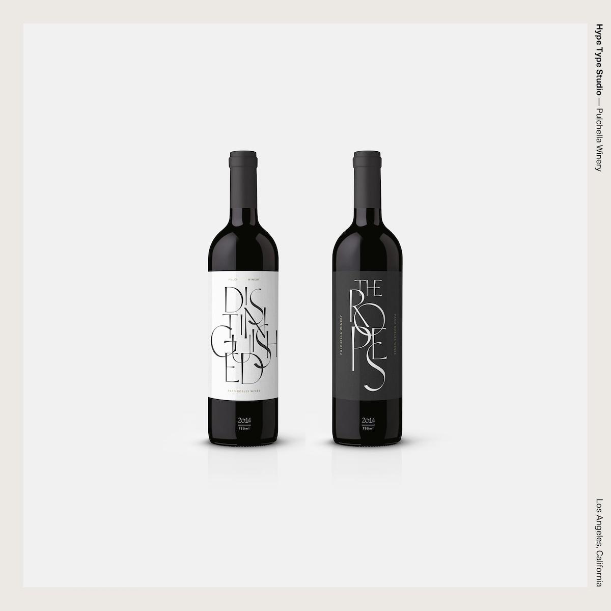 Hype Type Studio — Pulchella Winery