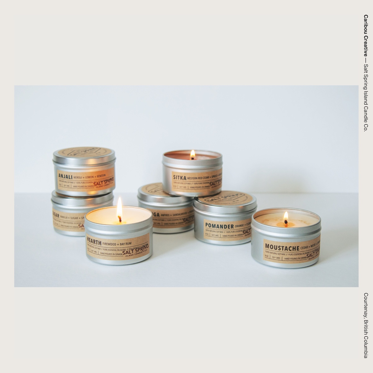 Caribou Creative — Salt Spring Island Candle Co.