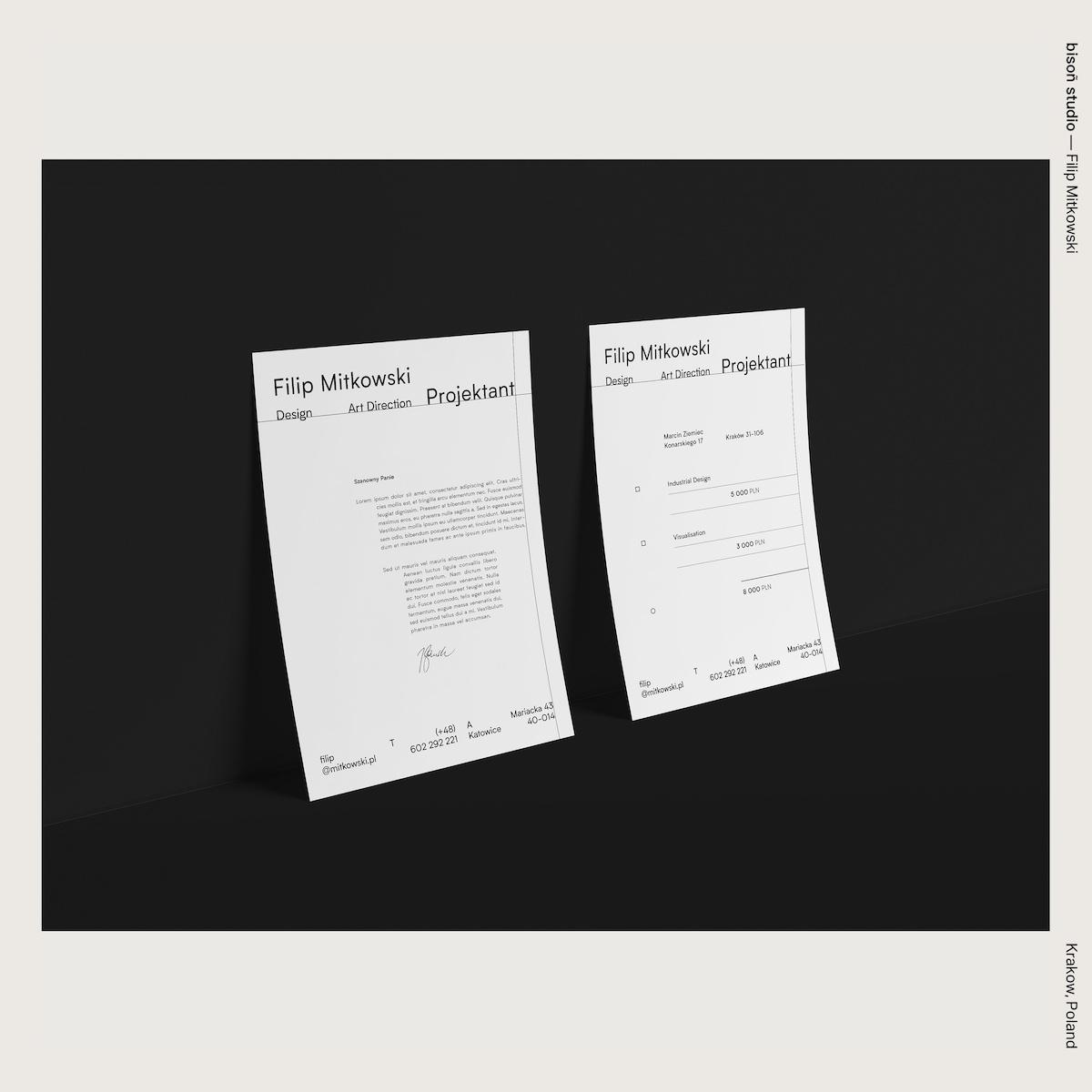 bisoñ studio — Filip Mitkowski