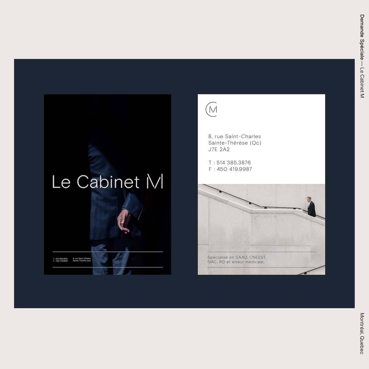 Demande Spéciale — Le Cabinet M
