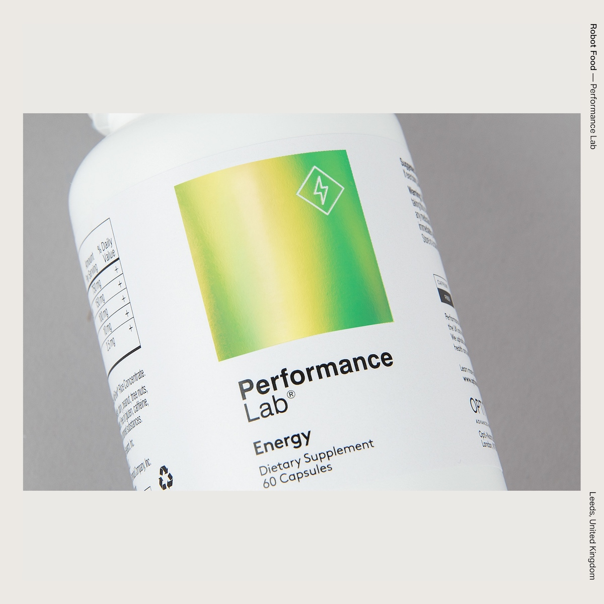 Robot Food — Performance Lab