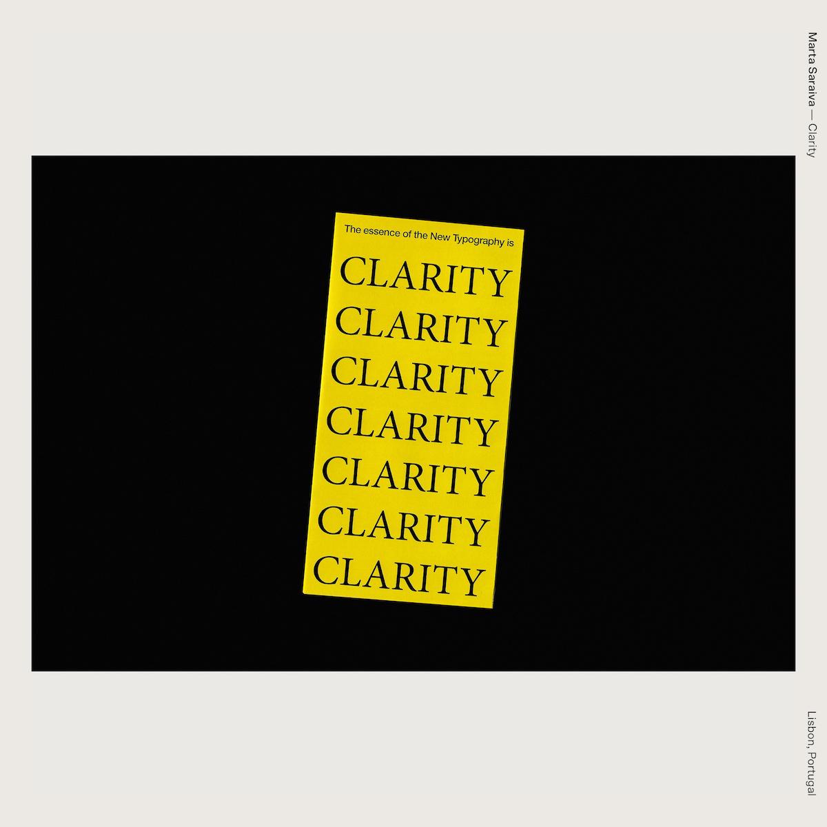 Marta Saraiva — Clarity