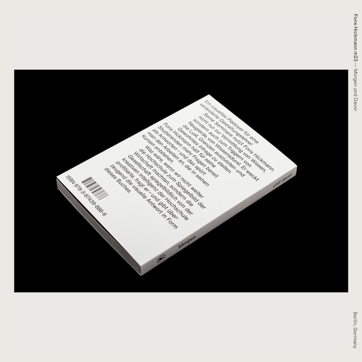 Fons Hickmann m23 — Morgen und Davor