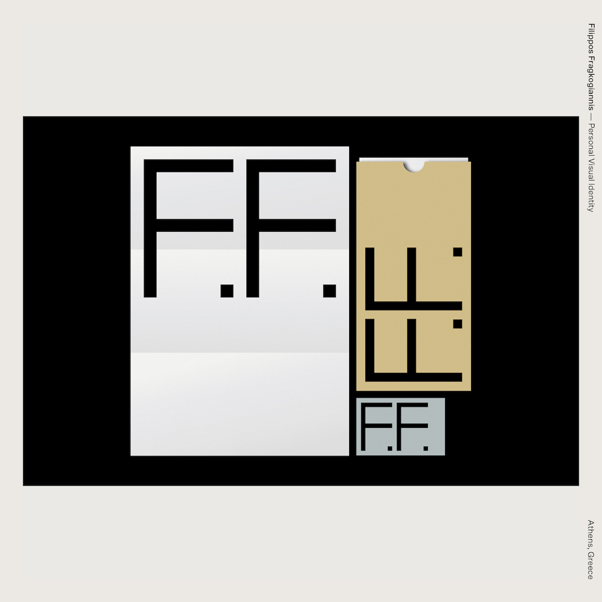 Filippos Fragkogiannis — Personal Visual Identity