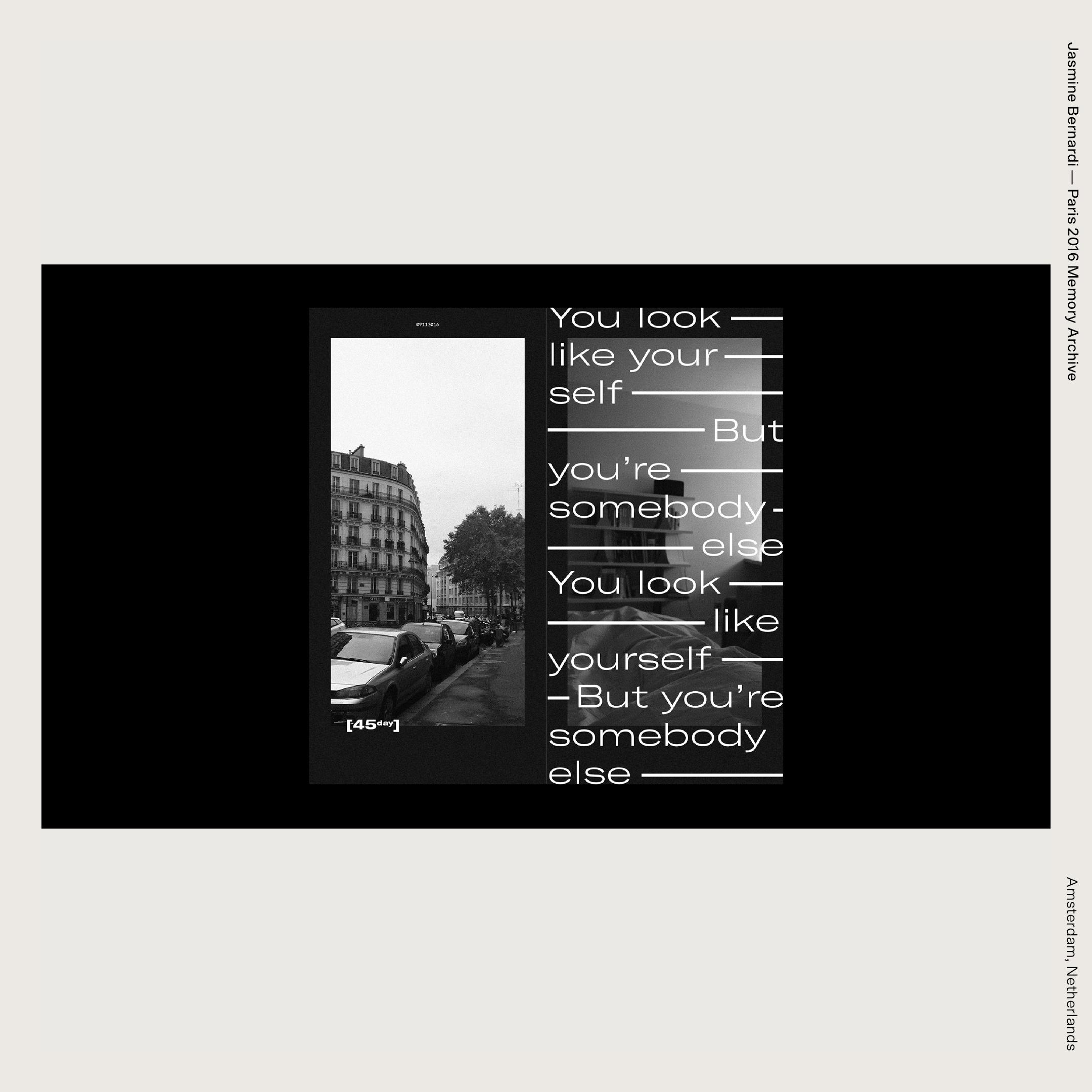 Jasmine Bernardi — Paris 2016 Memory Archive
