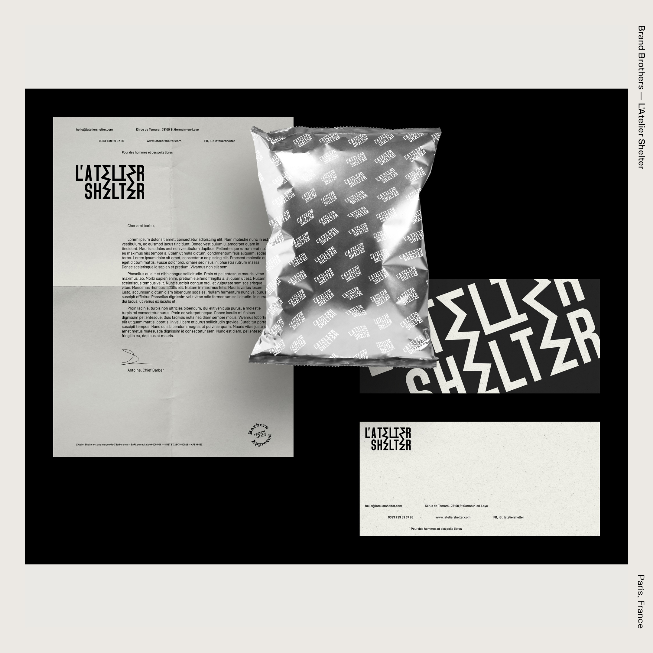 Brand Brothers — L'Atelier Shelter