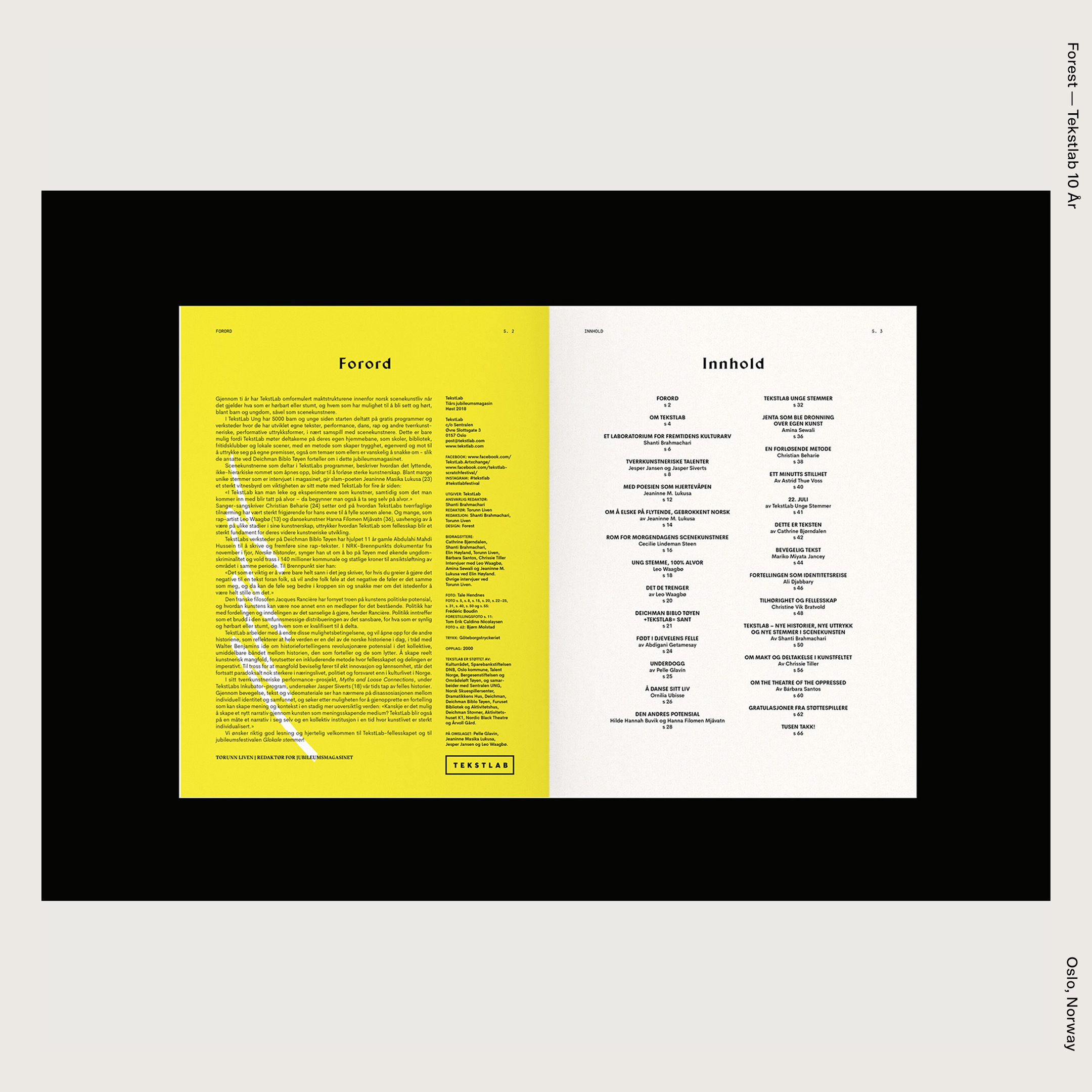 Forest — Tekstlab 10 År