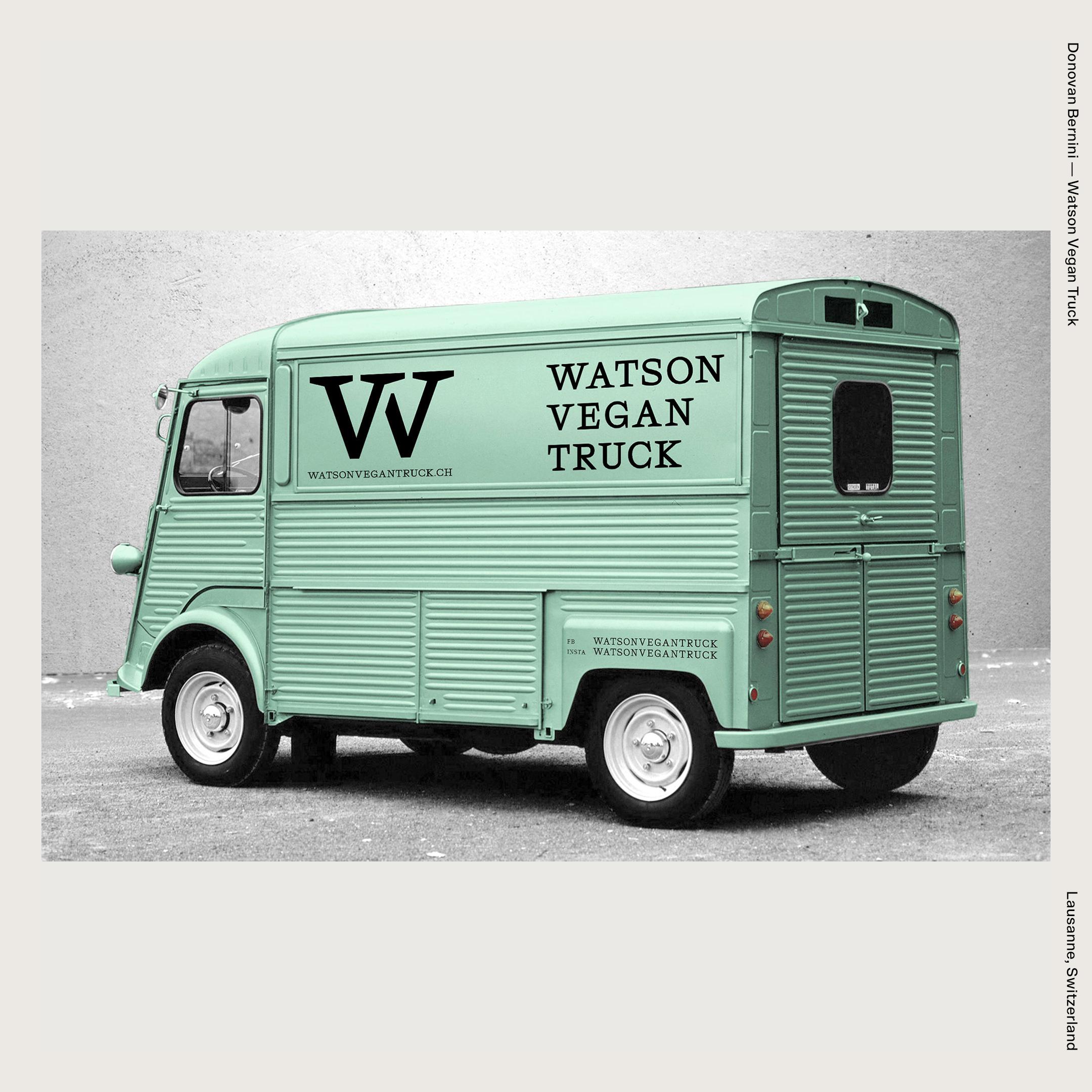 Donovan Bernini —Watson Vegan Truck