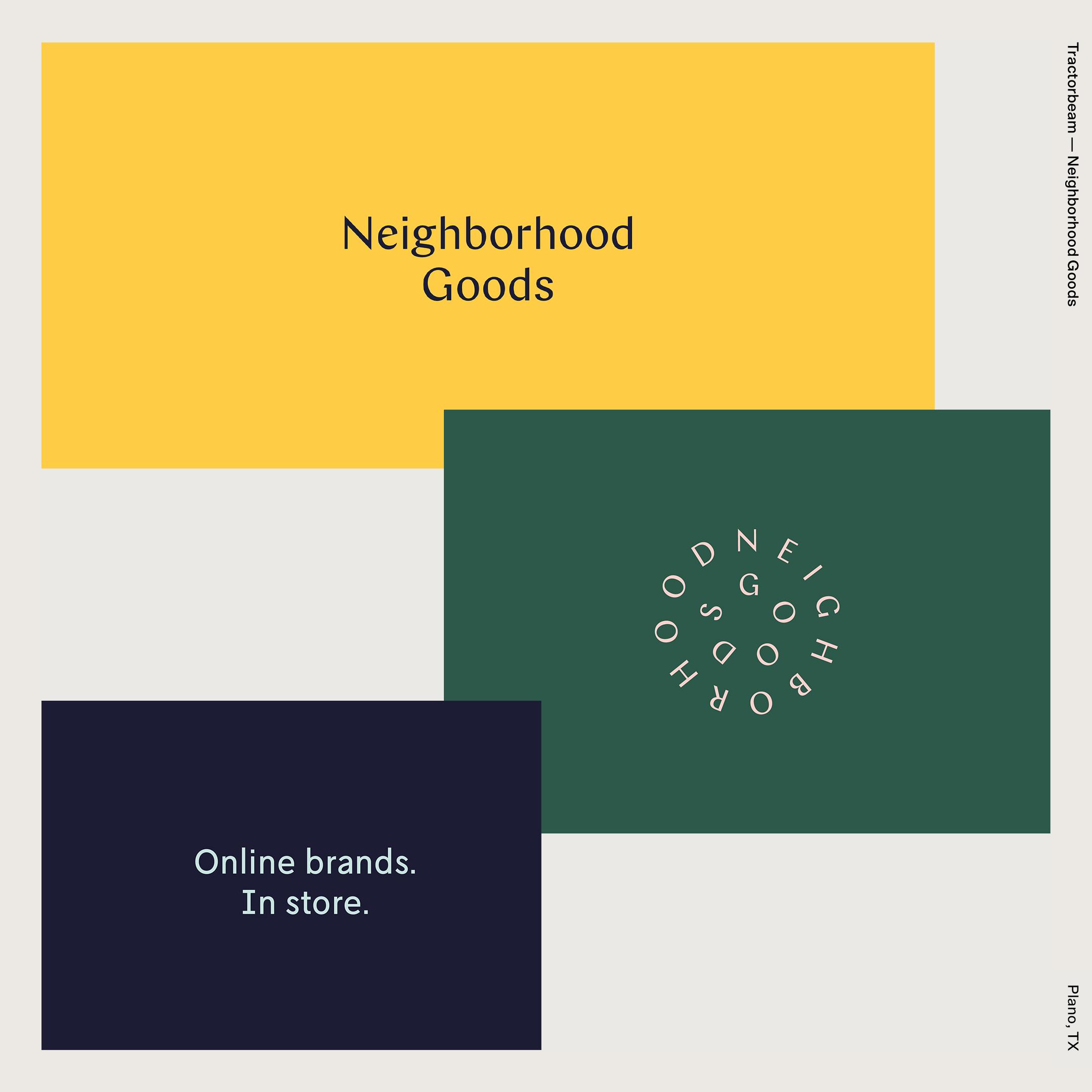 Tractorbeam —Neighborhood Goods