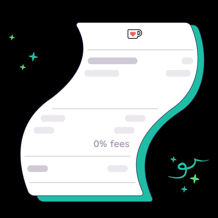 0% Fees!