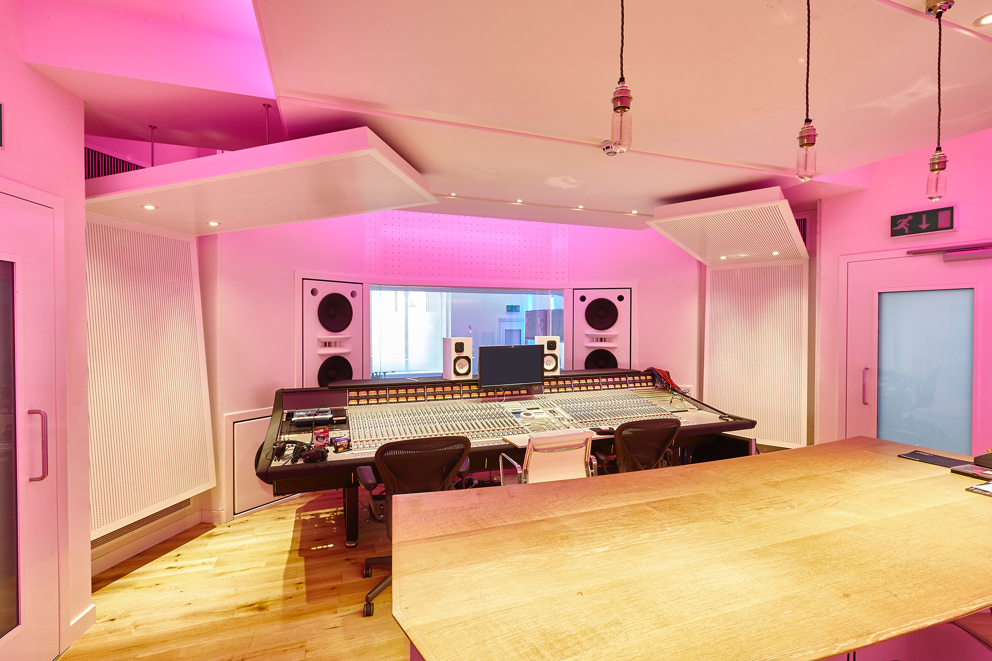 Designed audio and sound installation service with DJ equipment and speakers