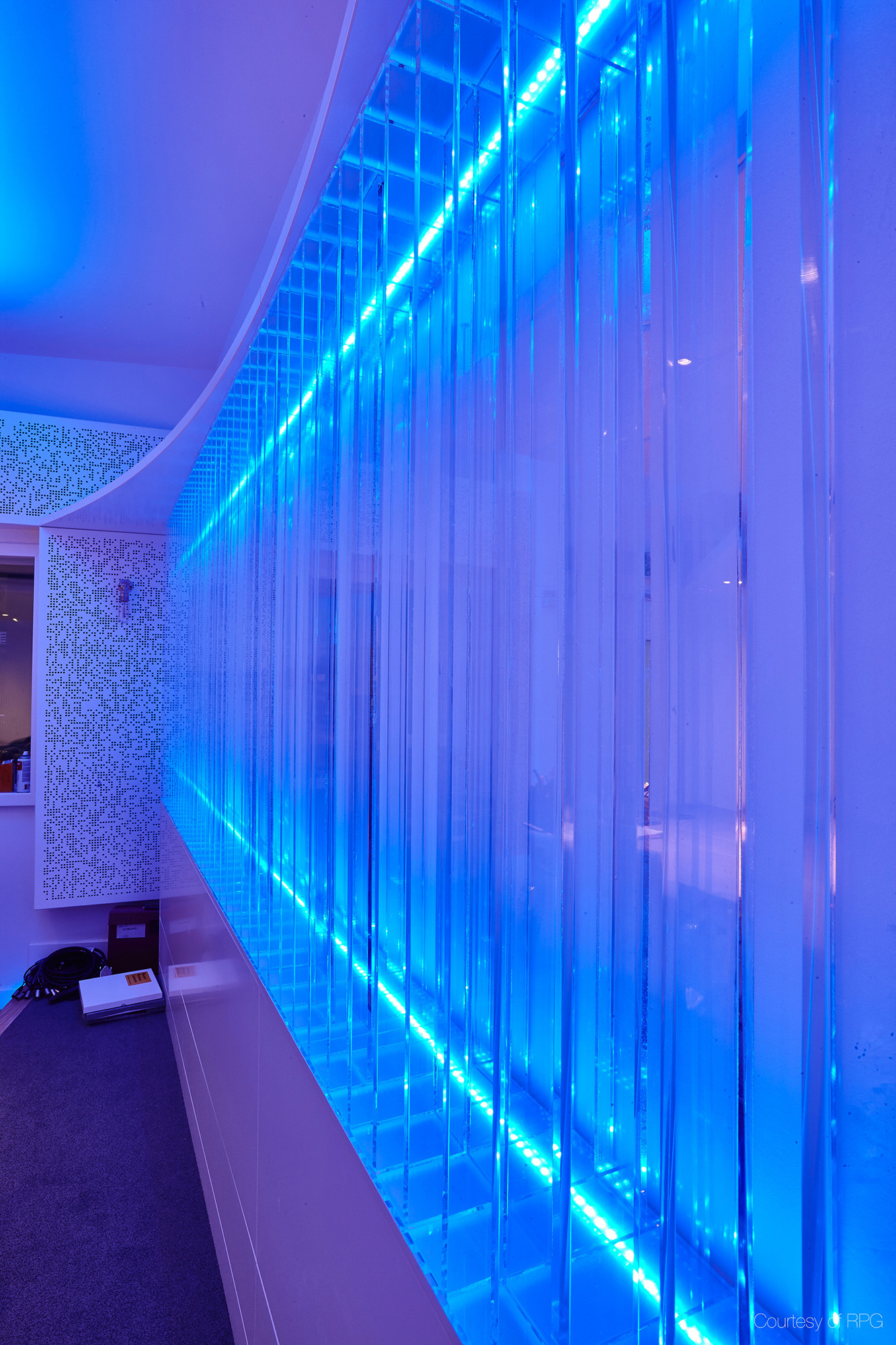 Designed audio and sound installation service with LED lights