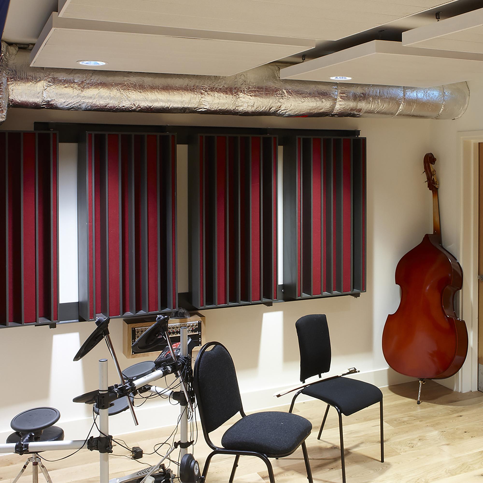 R&W Sound audio recording Installation