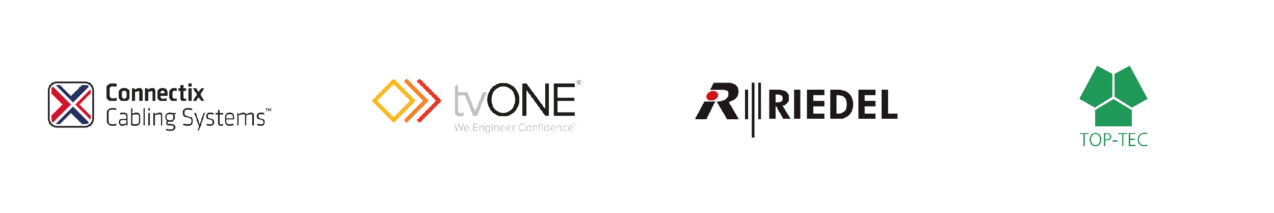 R&W Brands, Connectix, tvONE, Riedel, TopTec