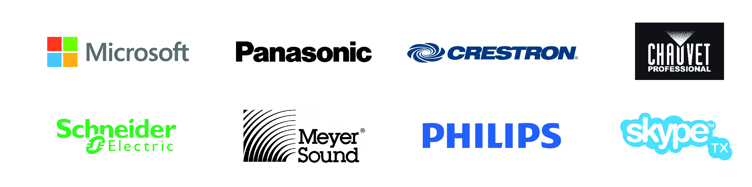 R&W Venue Technologies brand partners for design audio and sound installation service