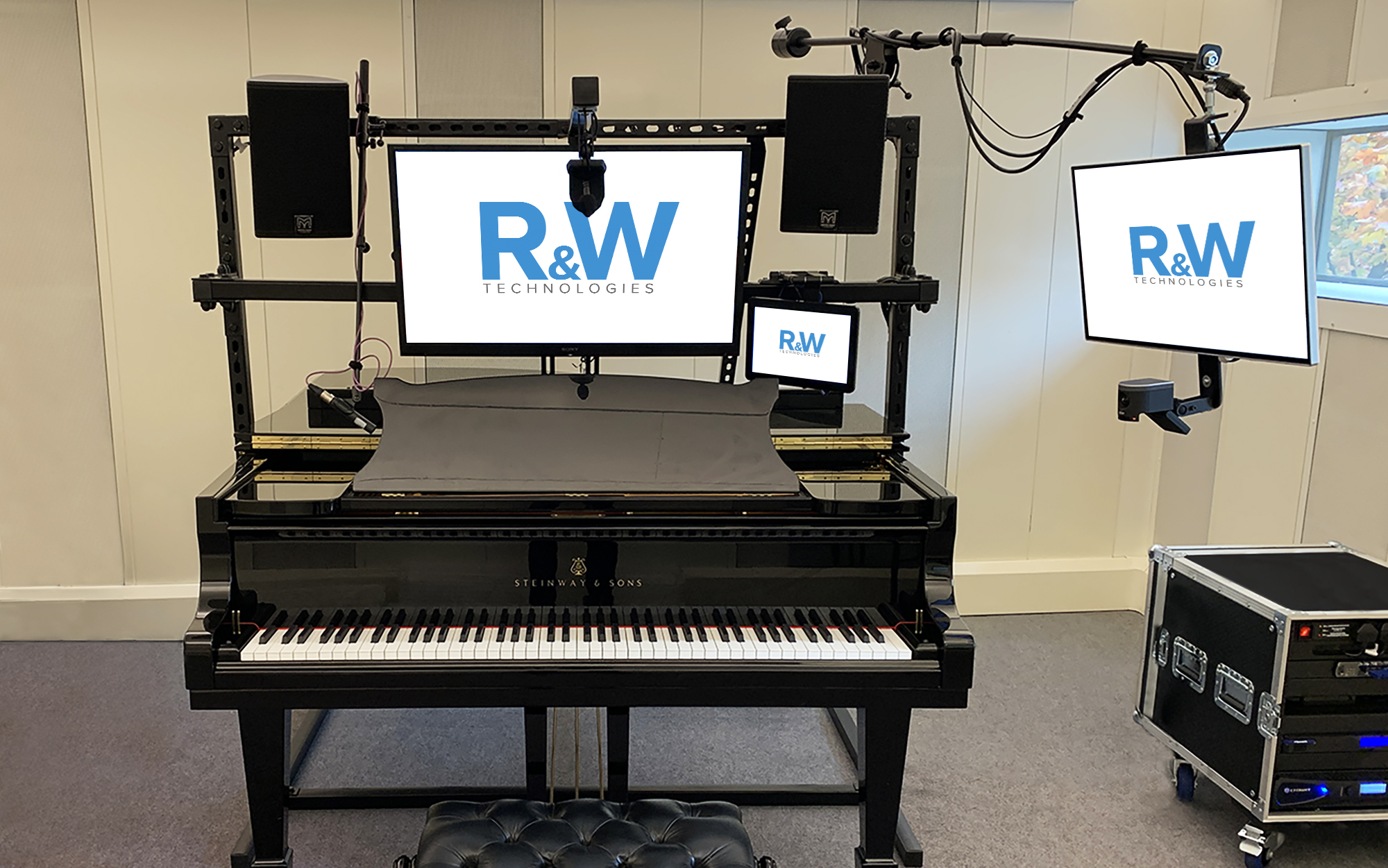 Manchester College Piano Zoom Room Upgrade