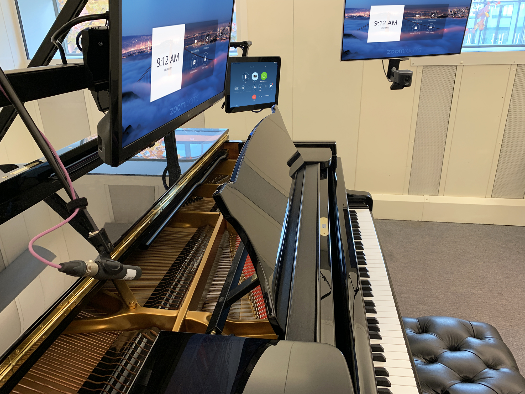 Manchester College Piano Room Upgrade