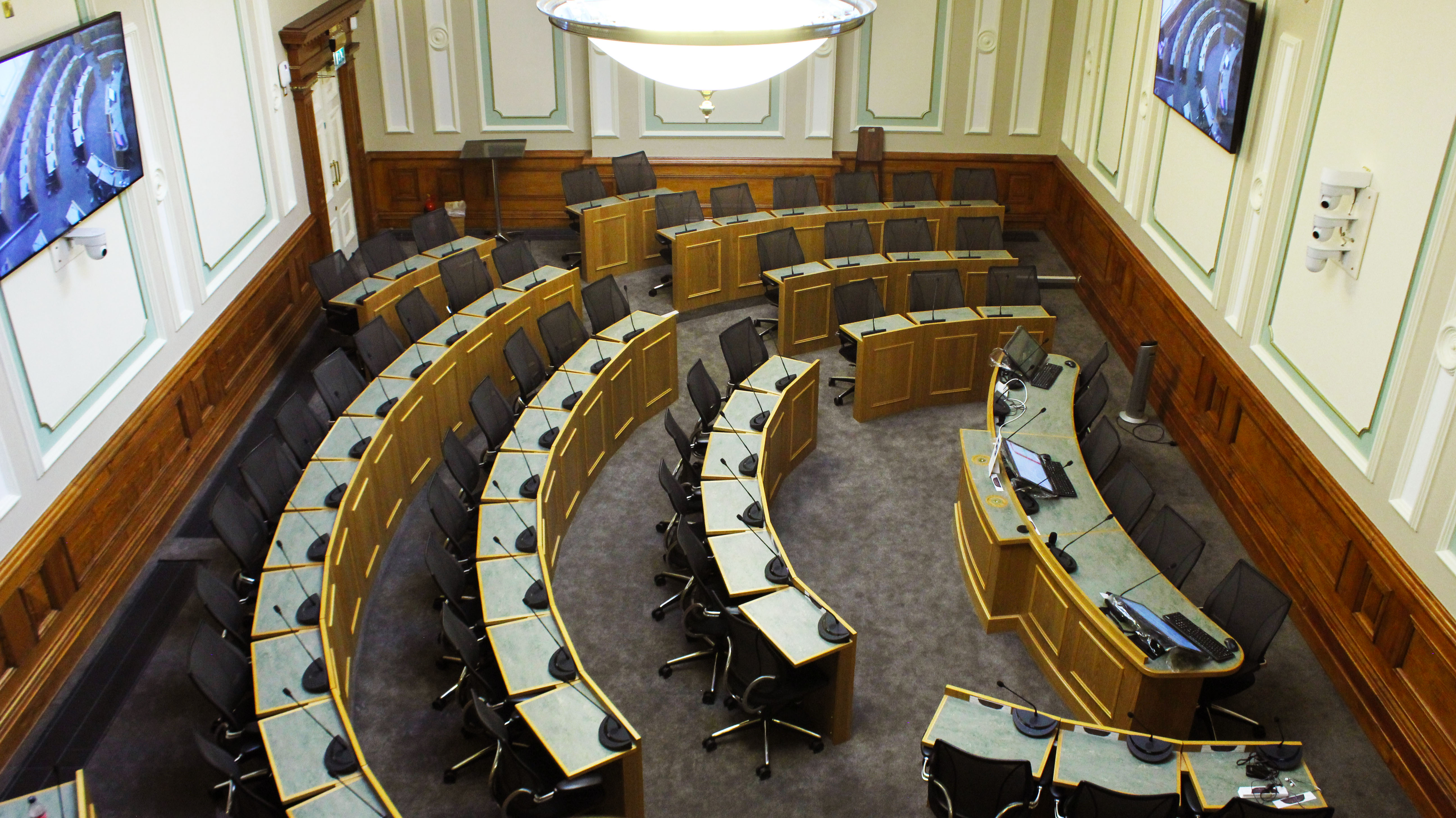 Kirklees Council support of Webcasting and Audio Visual Equipment