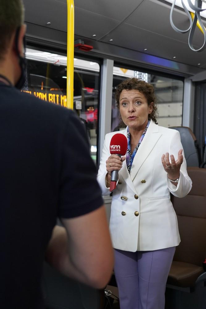 Lydia Peeters, Vlaams minister van Mobiliteit en Openbare Werken