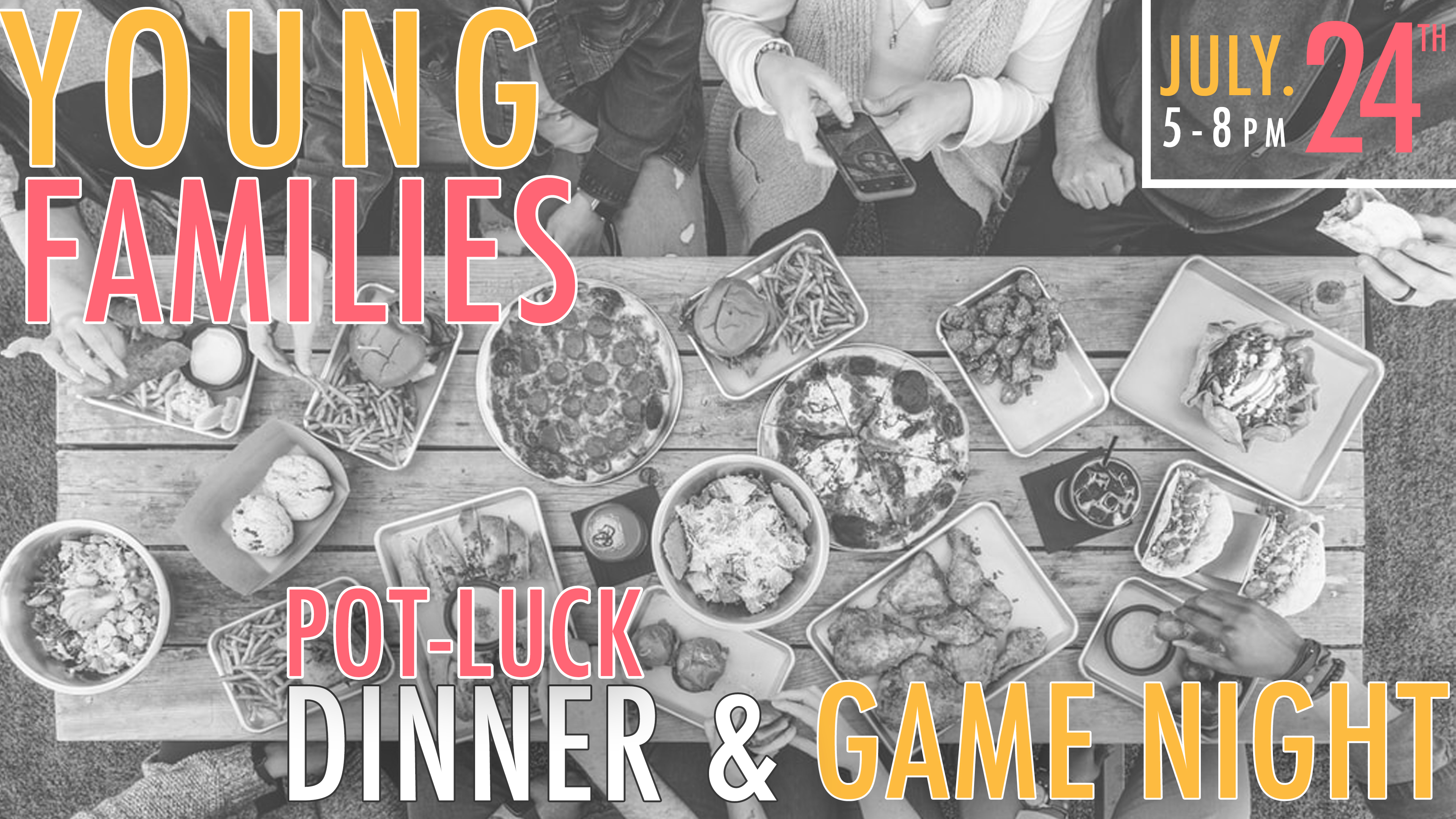 Young Families Game Night and Potluck