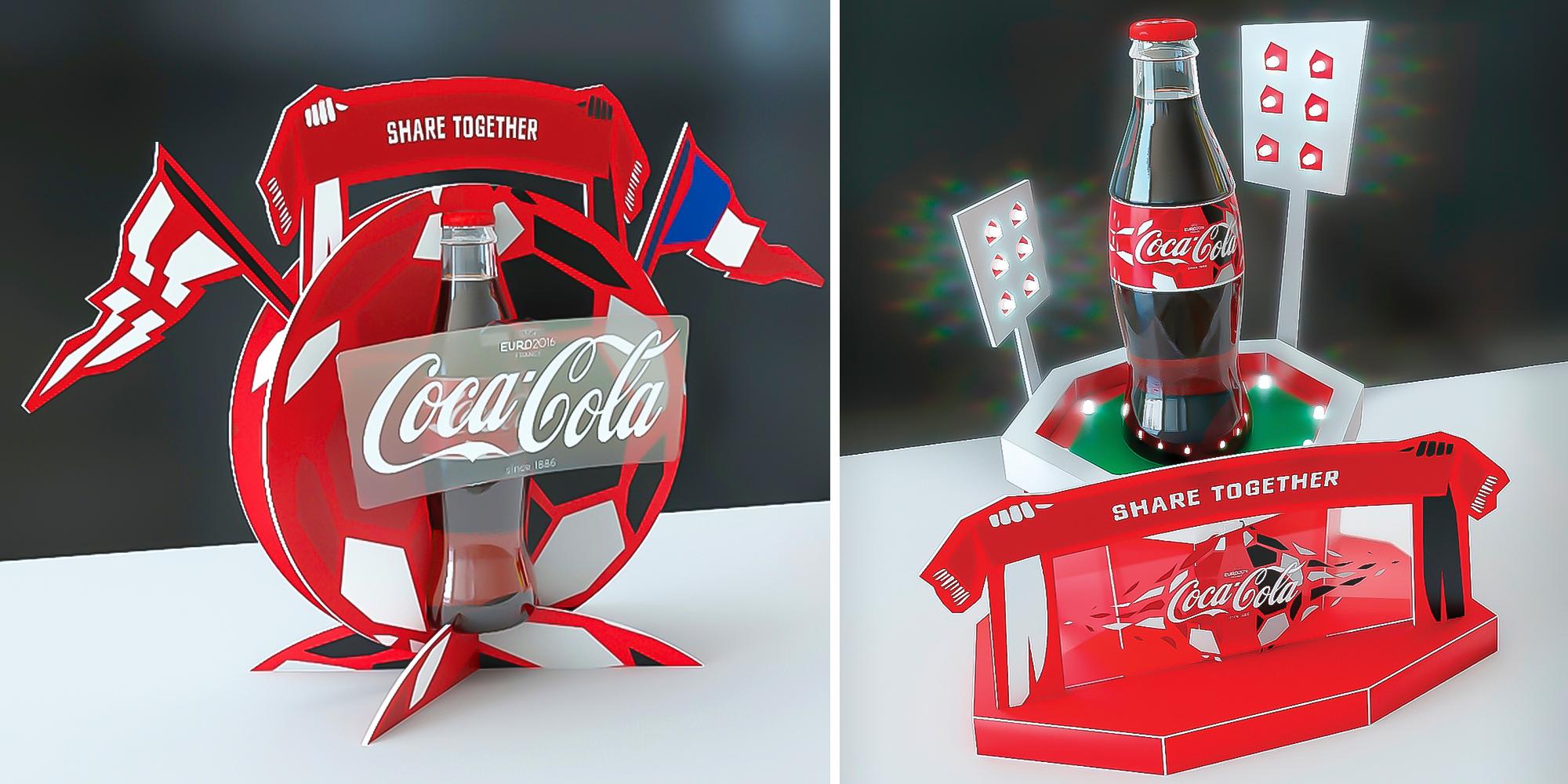 Coca Cola Back Bar Glorifiers