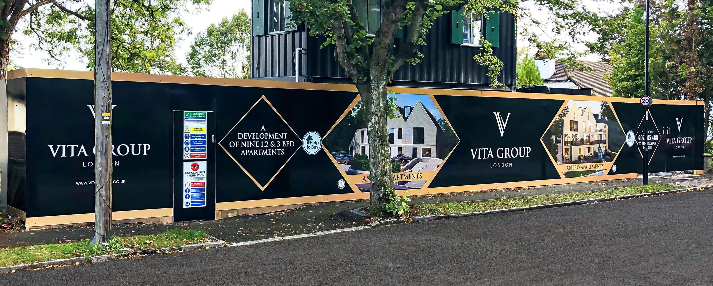 Vita Group Hoarding