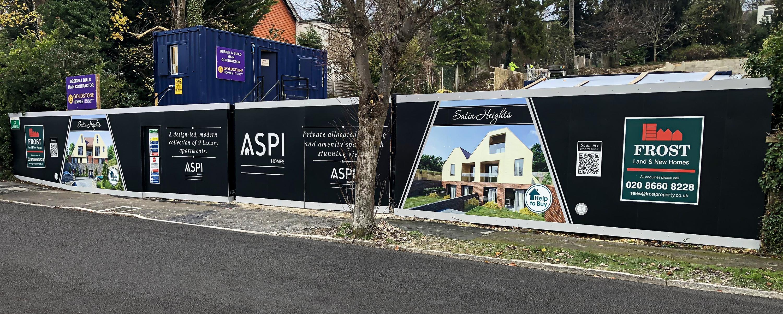 ASPI Homes Hoarding