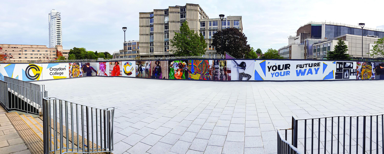 Croydon College Hoarding