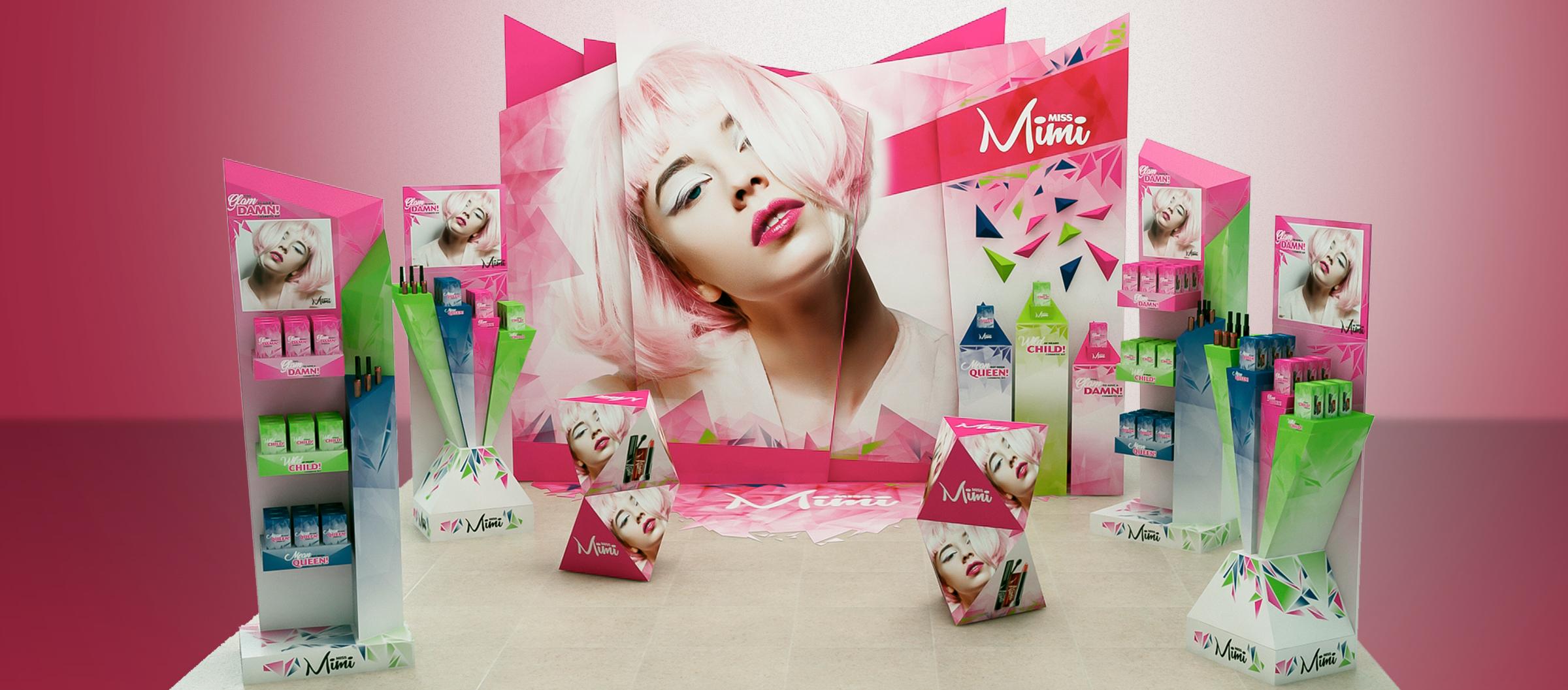 Miss Mimi Exhibition Display