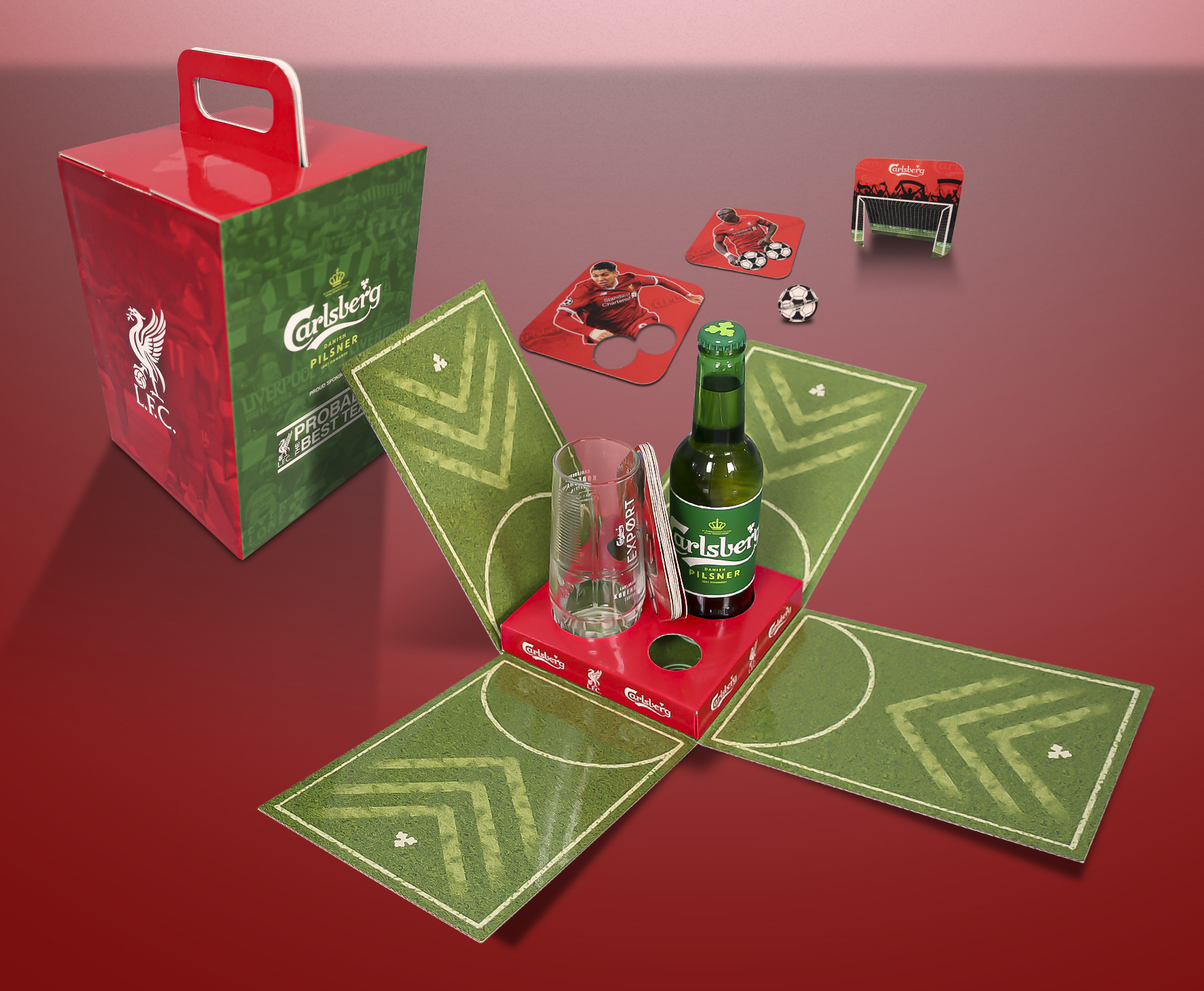 Carlsberg LFC Football Game Pack