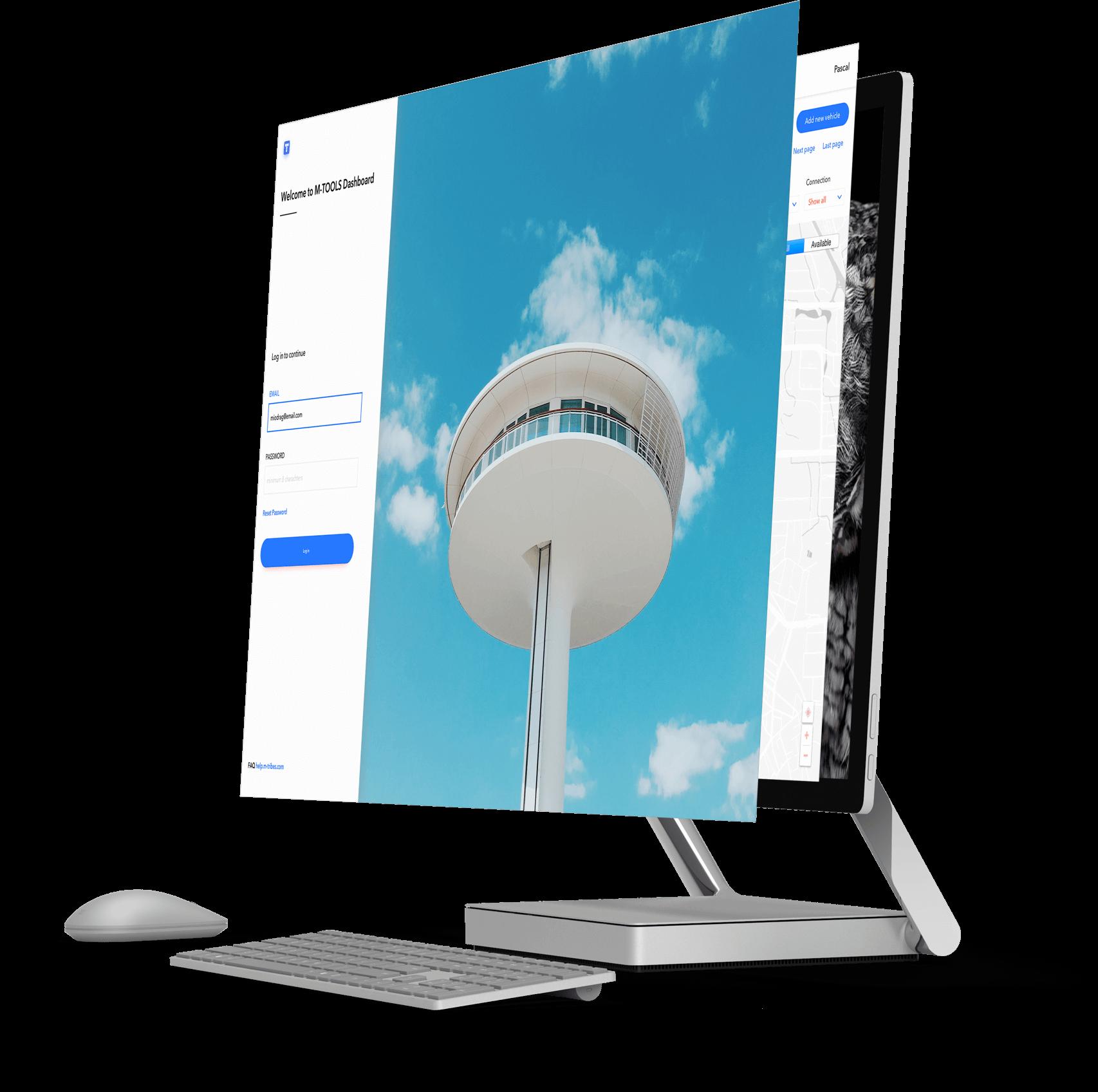 M-TOOLS technology platform web apps