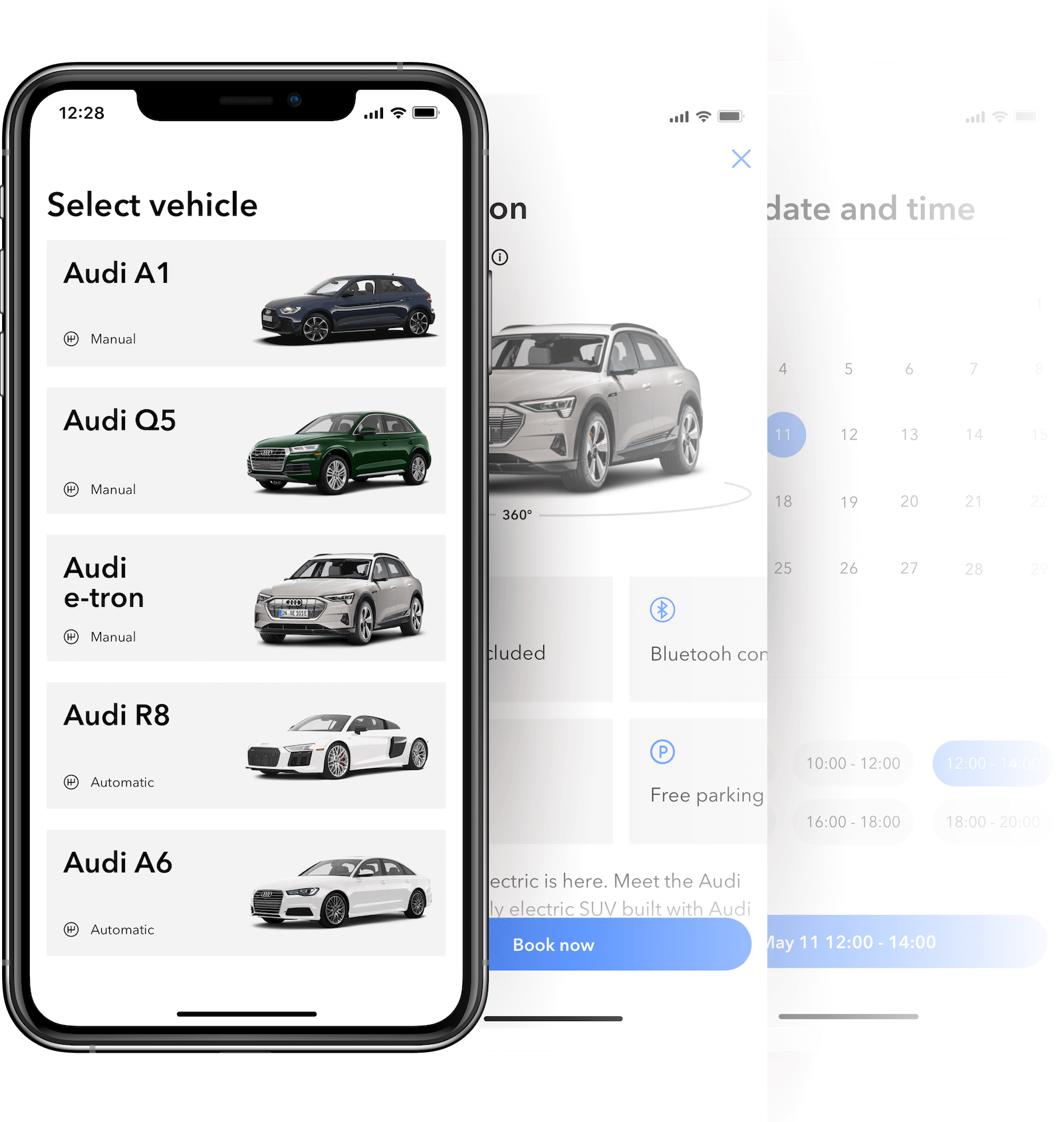 Mobile apps for keyless car rentals for dealerships and rental agencies