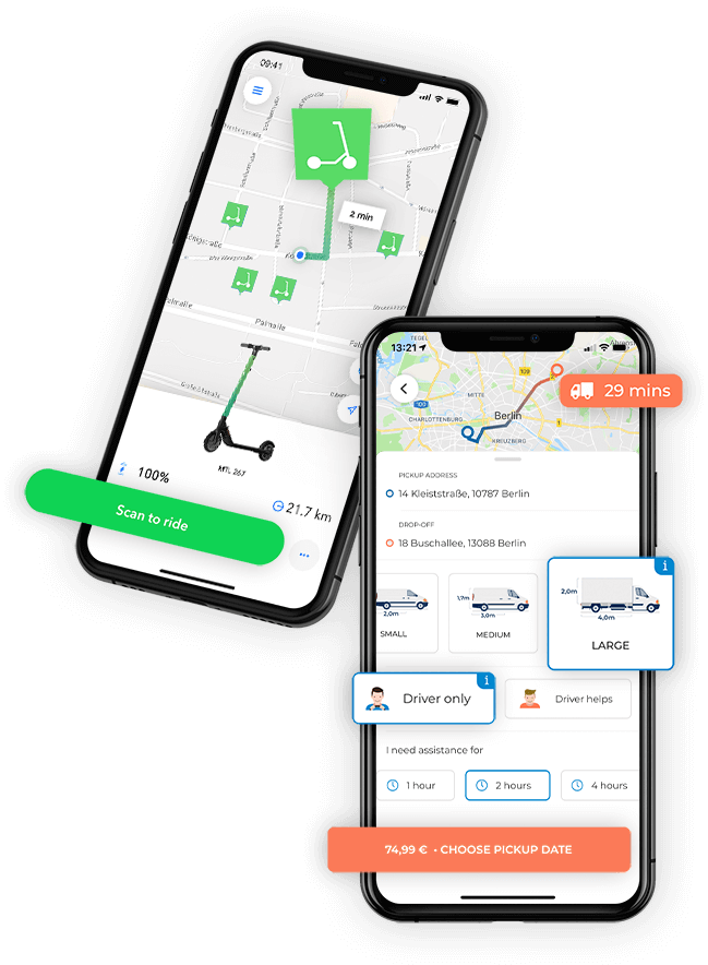 M-TRIBES New Mobility Technology for Scooter Sharing and Last Mile Deliveries