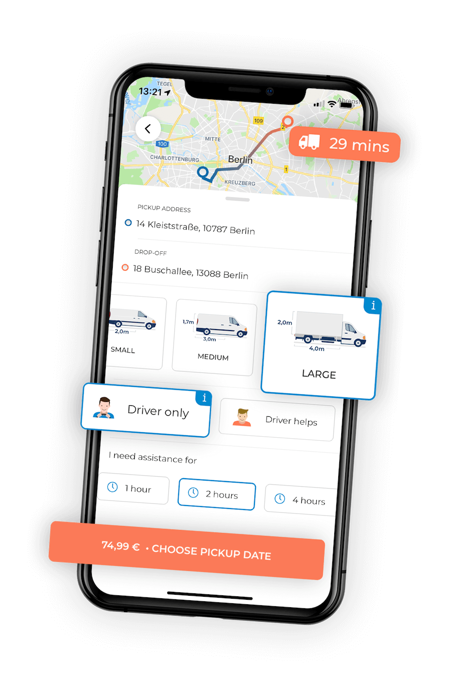 M-TRIBES Last Mile Delivery Solution