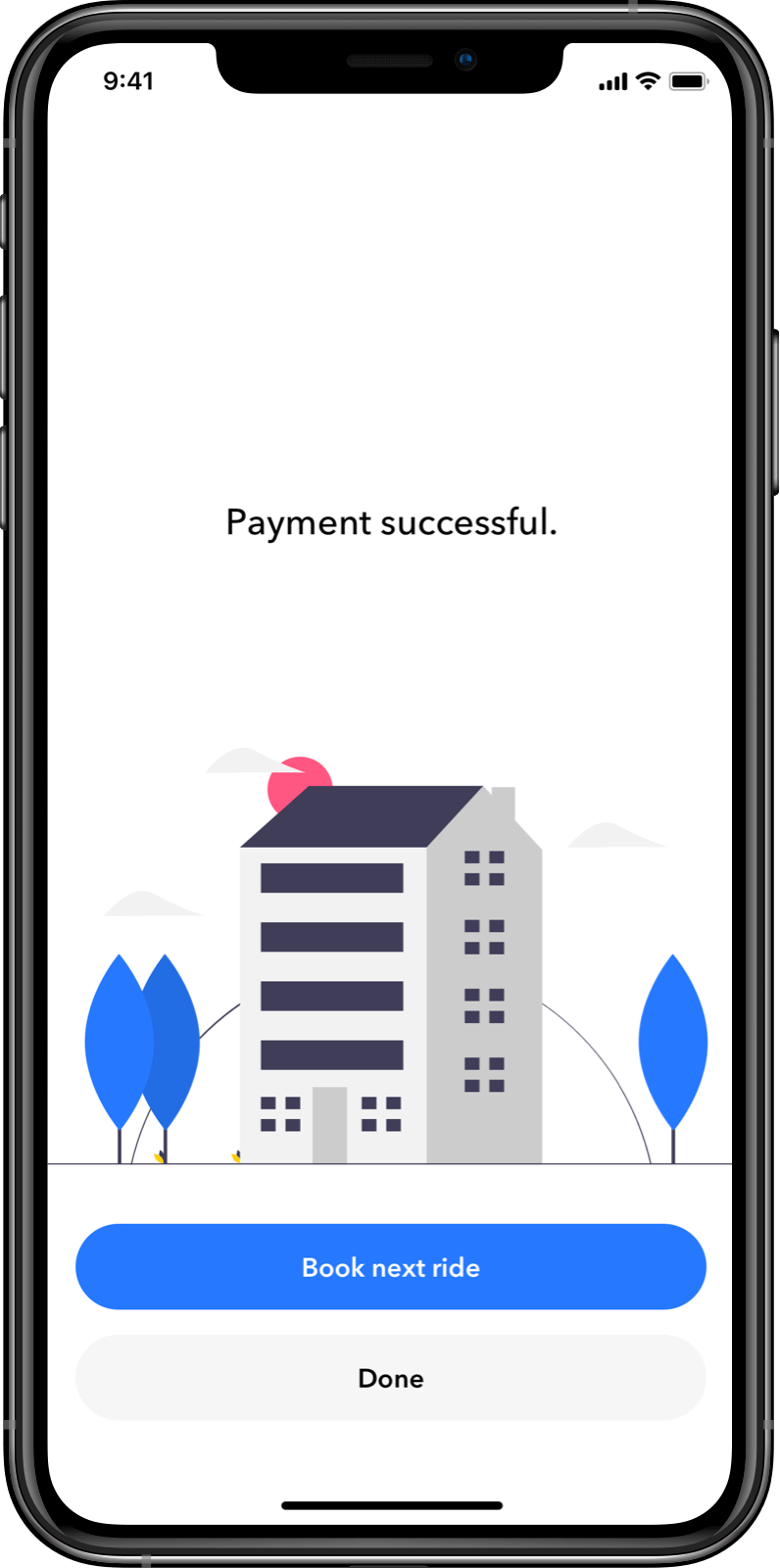 Customer App: Seamless in-app payments