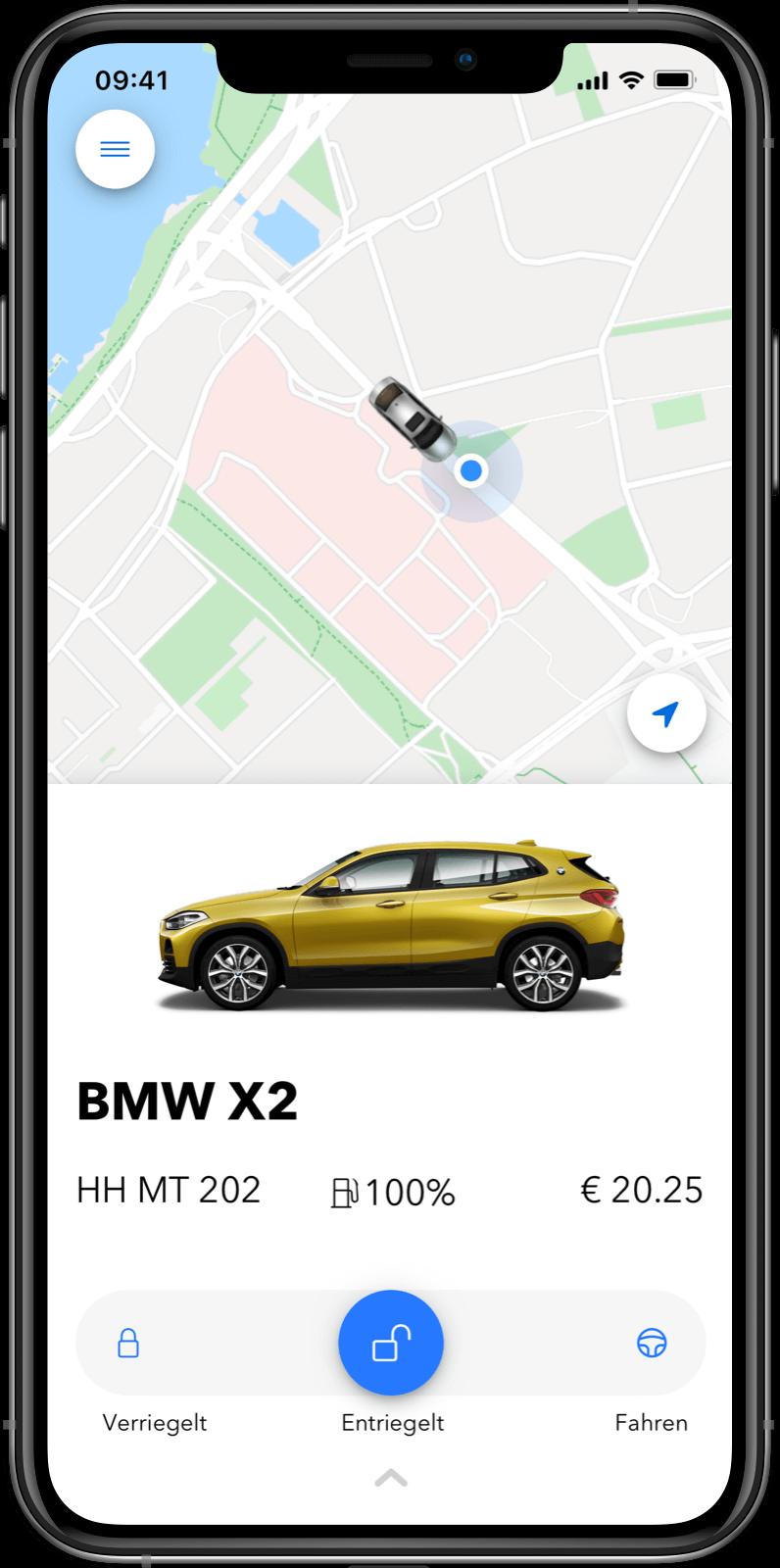 Kunden-App - In-app Zahlungen