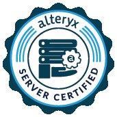 Alteryx Server Certified