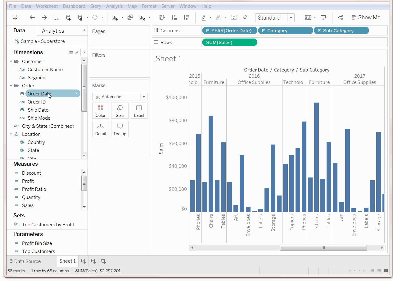 Learn Tableau Discover Business Insights