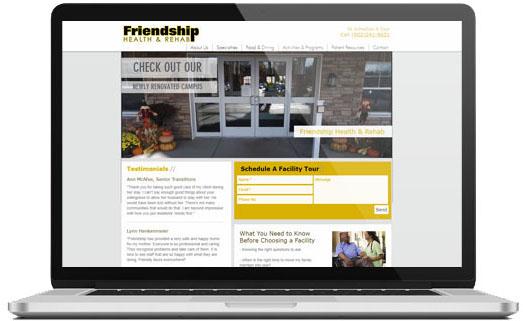 Friendship Website Image