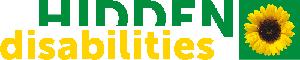 Hidden Disabilities logo link will redirect to HD website
