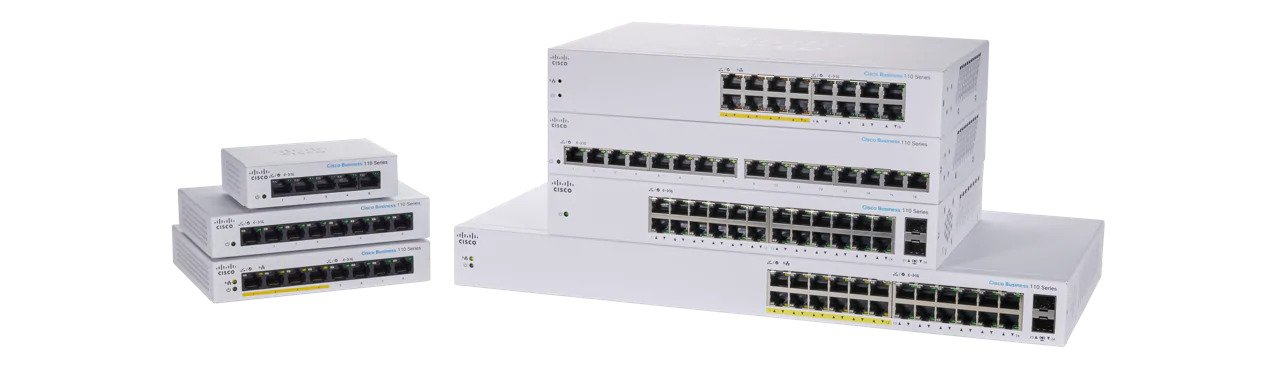 110 Series Unmanaged Switches