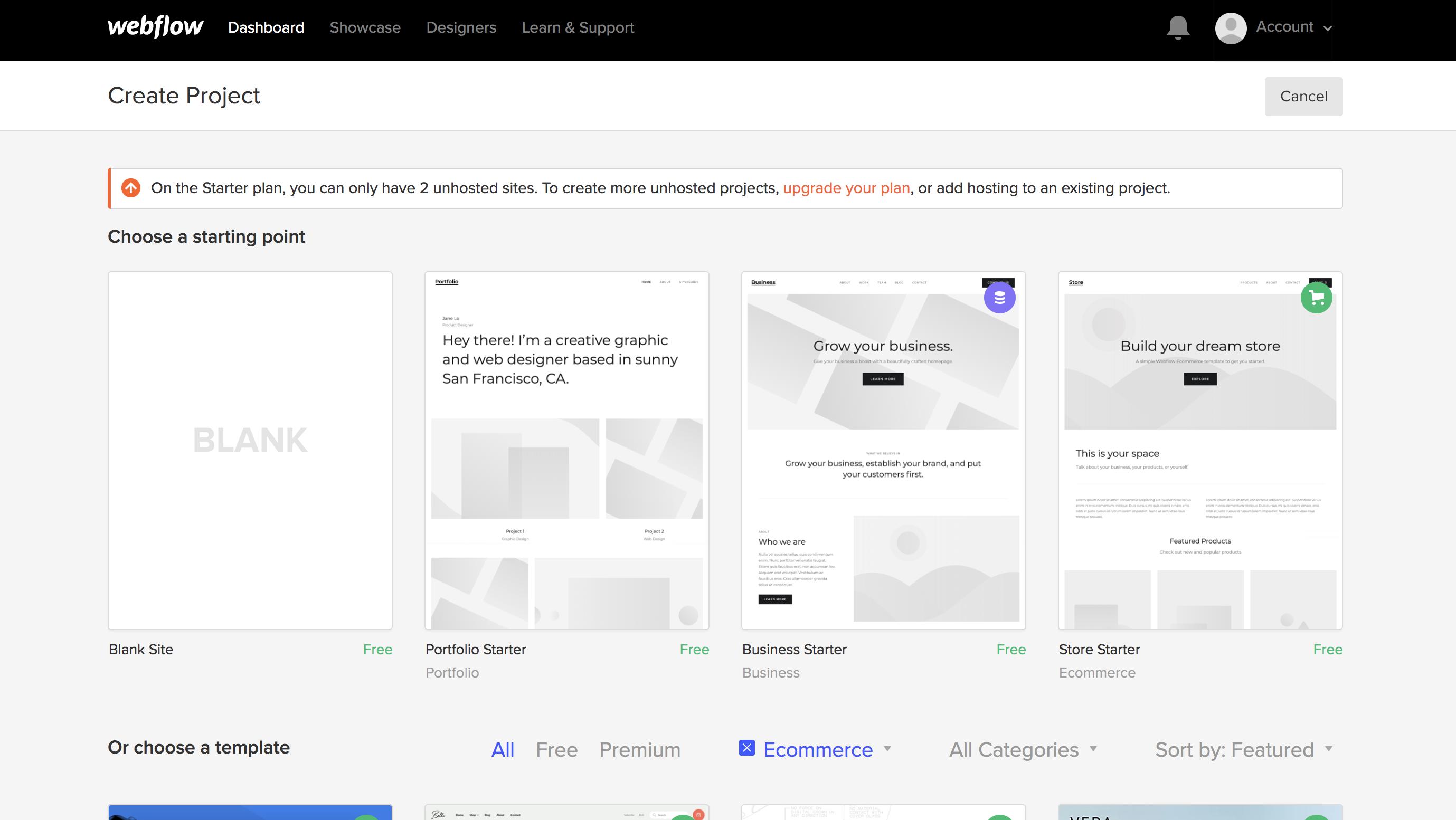 Shopify vs Webflow eCommerce 2019   UX agency London