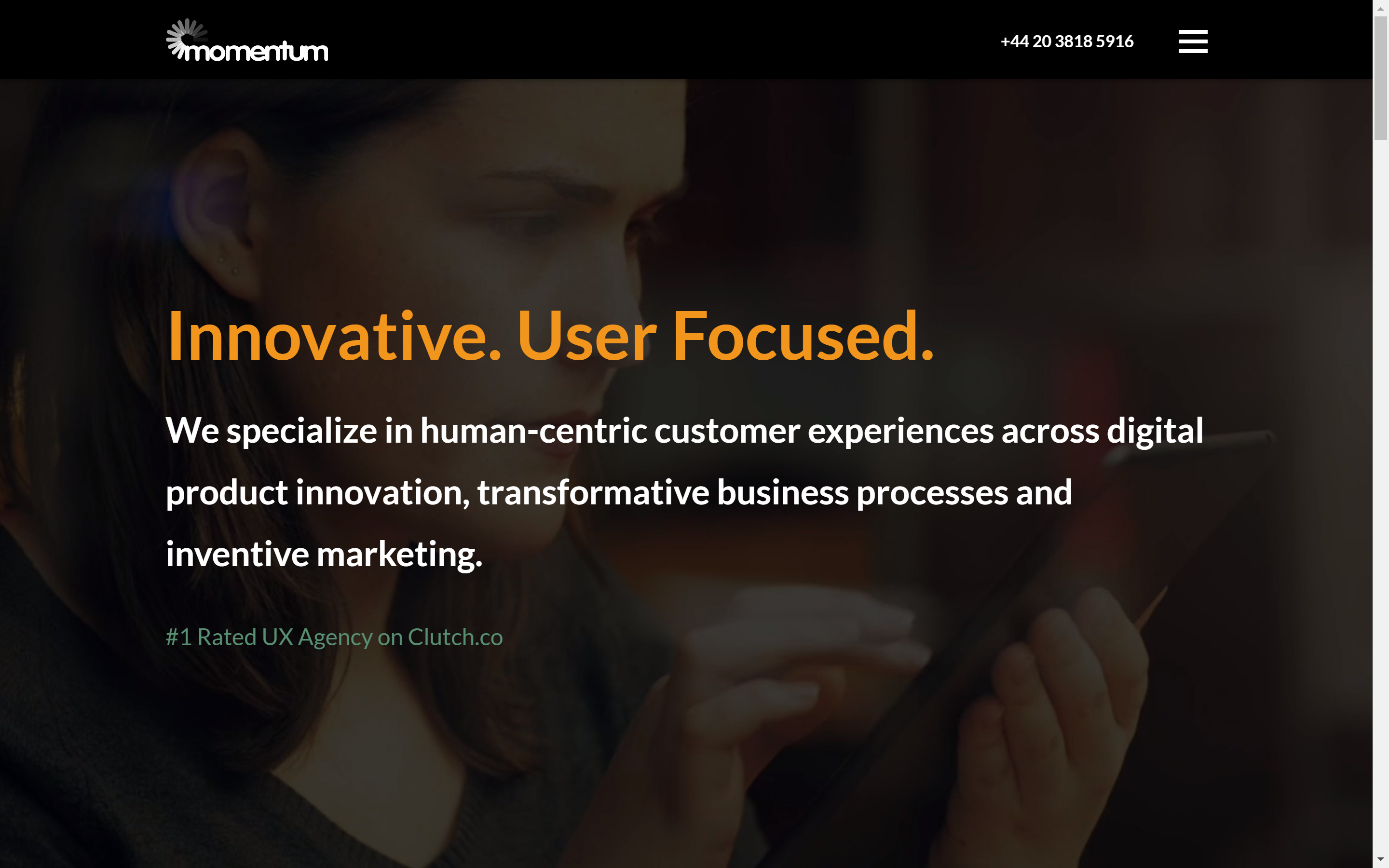 Best Ux Agencies In London 2020 Cx Research Design And Consulting For Premium Brands
