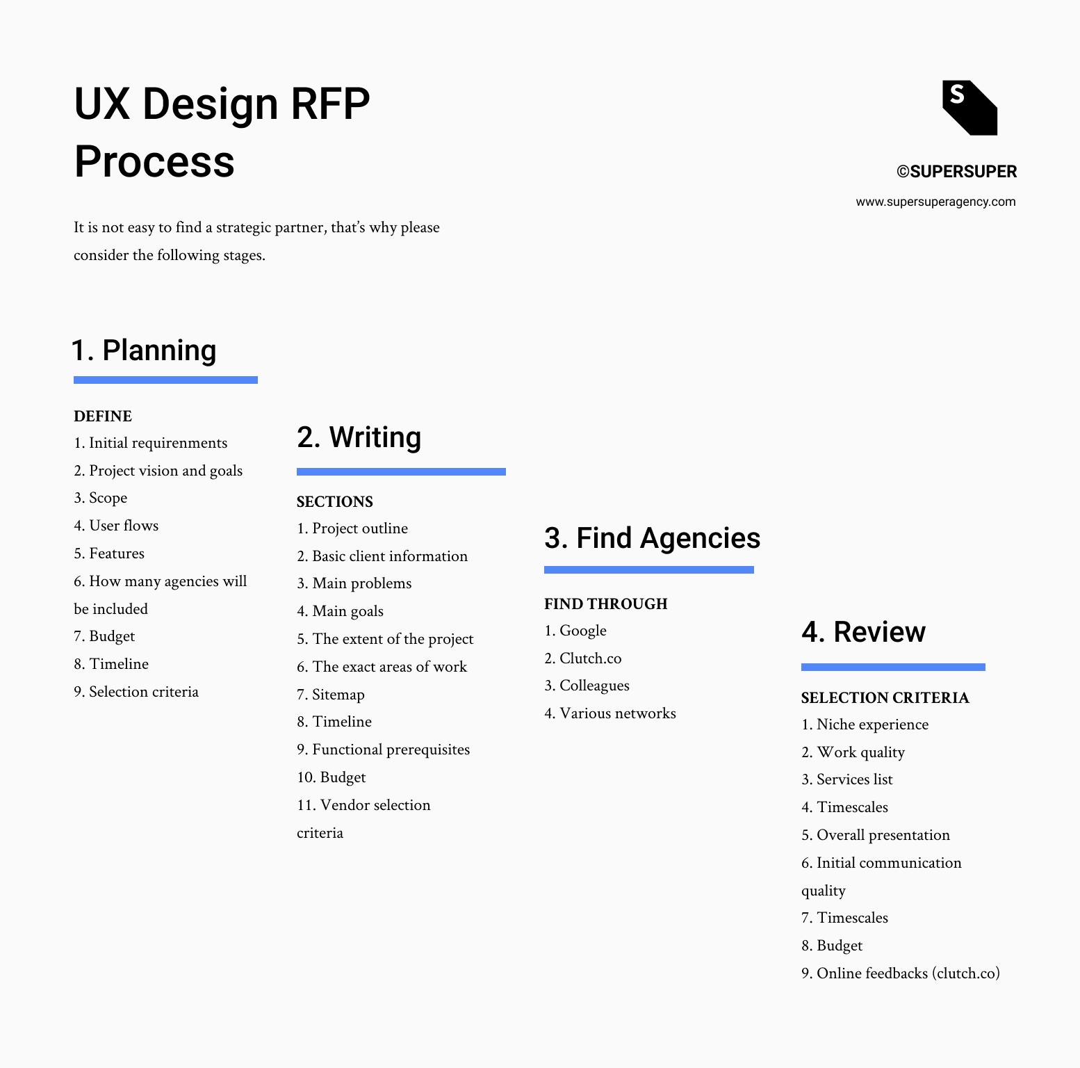 Rfp Pricing Template