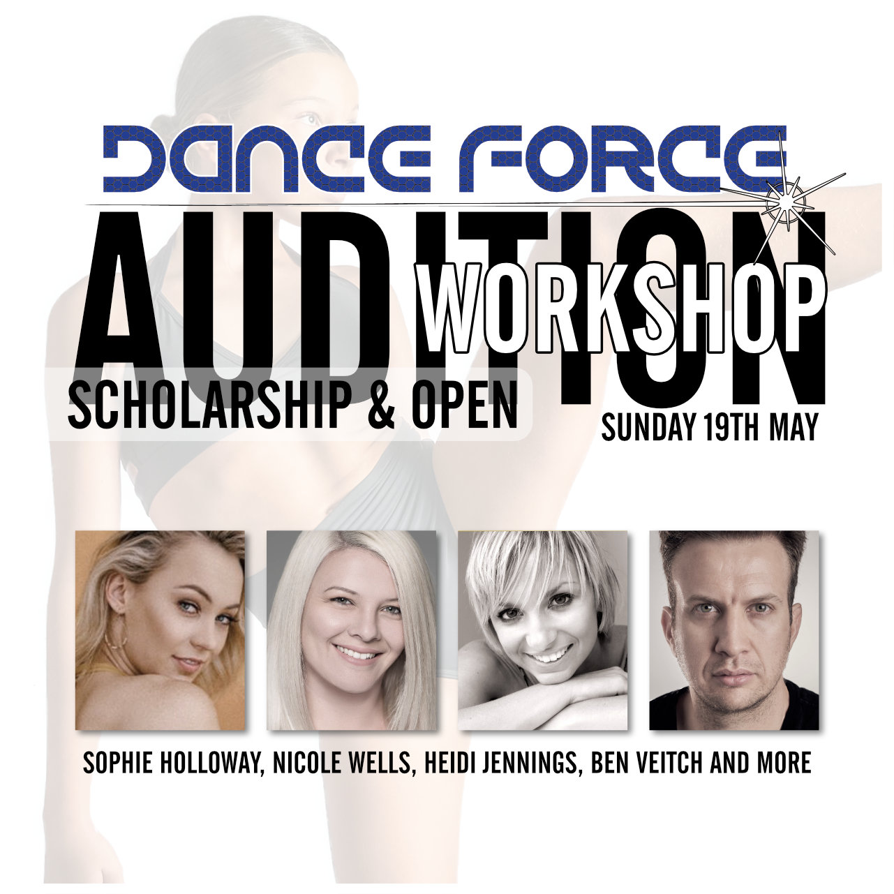 SCHOLARSHIP & OPEN AUDITION WORKSHOP