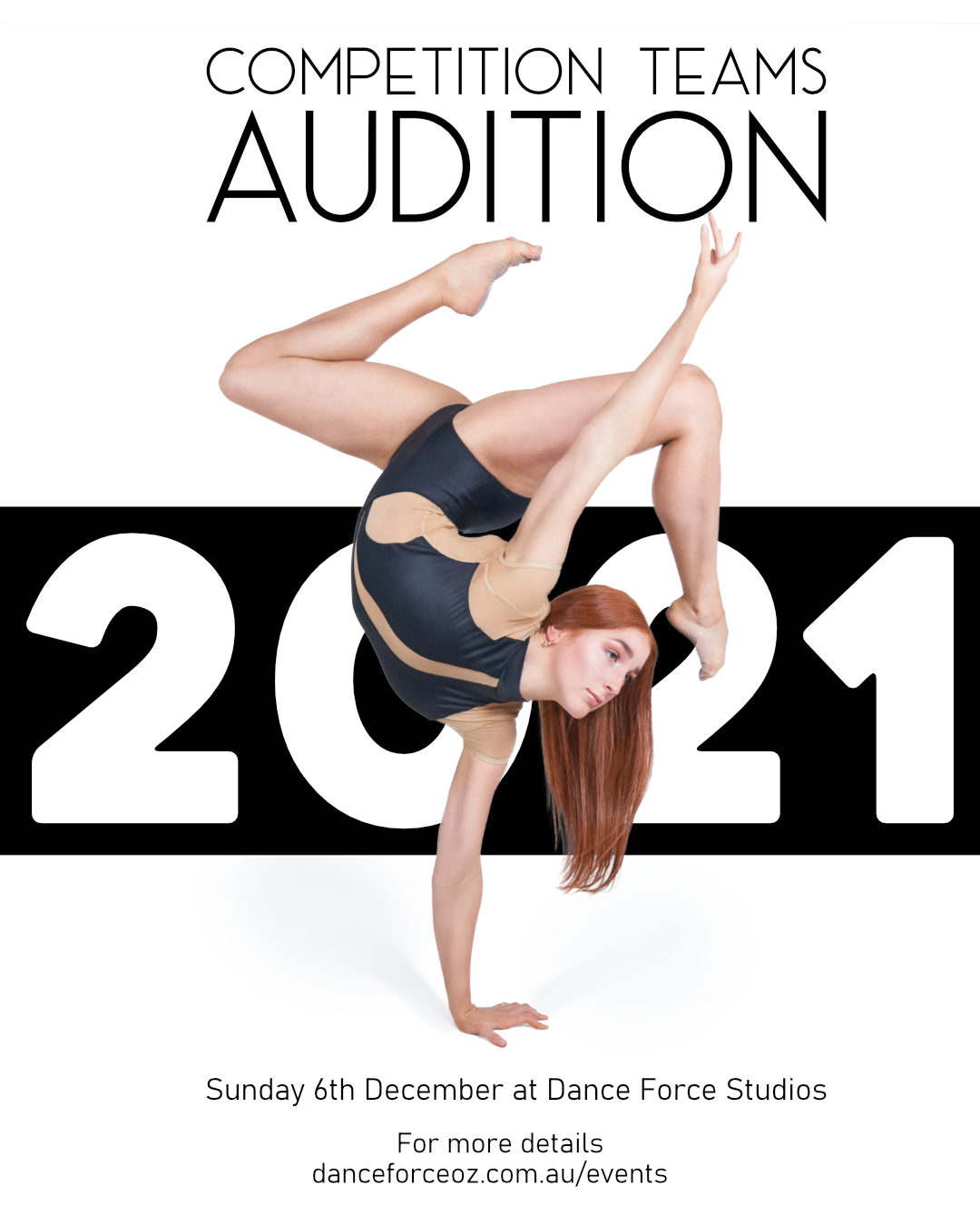 Competition Teams 2021 Audition